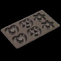 Vorschau: Flexiform Lebkuchen 17x30cm braun