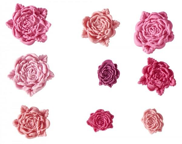 Flexiform Prägeform Rosen 20mm cotton candy