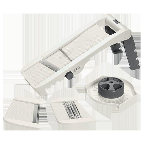 Variohobel steingrau/weiß