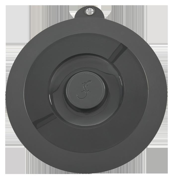 Deckel Universal mittel Ø210mm charcoal grey