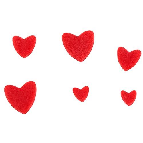 Ausstecher mit Auswerfer Herz 3er Set ruby