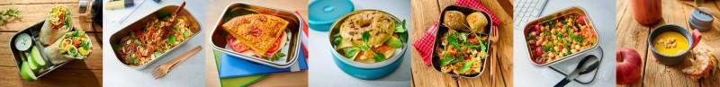 Snack To-Go Rezepte und Lunchboxen für Schule, Uni und Arbeit