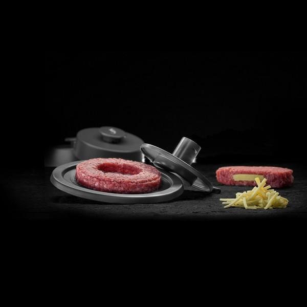 "Burger Stuffer ""gefüllte Burger"" iron grey"