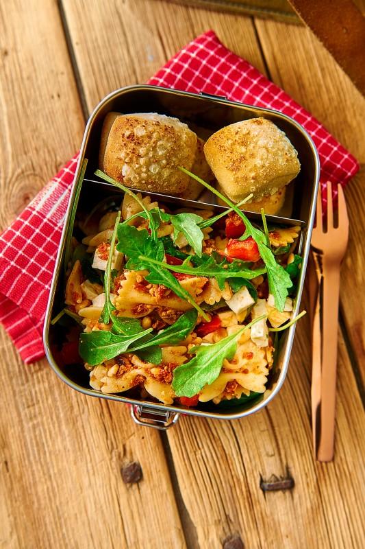 Lunchbox Snap aus Edelstahl für Schule, Uni und Arbeit
