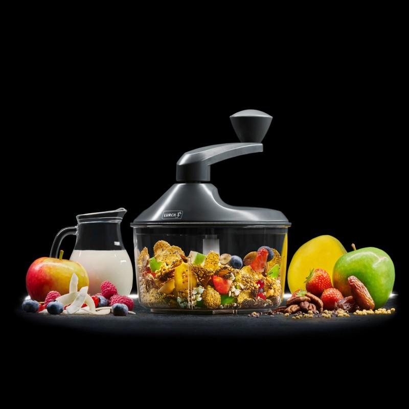 Lurch Müsli-Mixer zum Zubereiten von Müsli, Sahne & Co. Ideal zum Zerkleinern und Vermischen