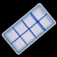 Vorschau: Eisformer Würfel 5x5cm eisblau
