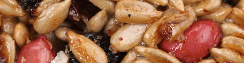 Kürbiskerne richtig karamellisieren