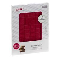 Vorschau: Flexiform Schokoladentafel 12x20,5cm ruby