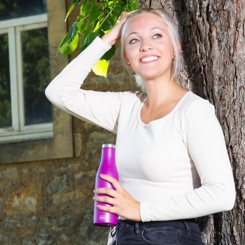 Isolierflaschen von Lurch in vielen Trendfarben