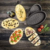 Vorschau: Flexiform Pizza 2er Set braun