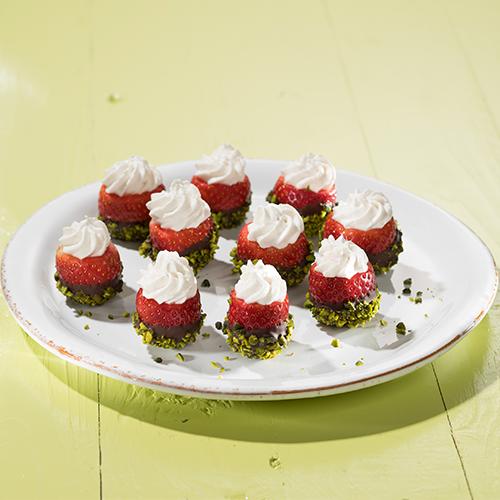 Gefüllte Erdbeeren