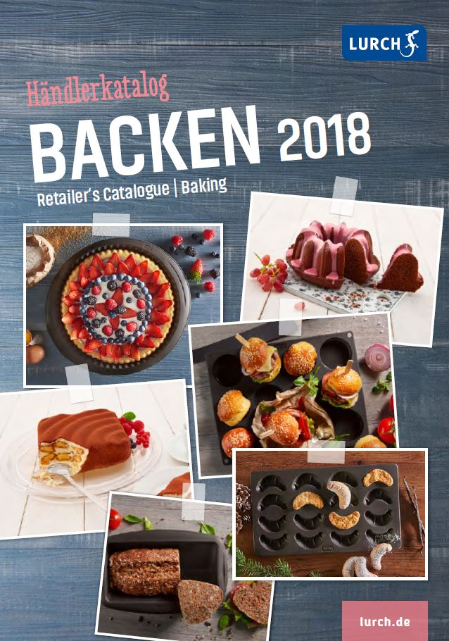 LURCH Händlerkatalog BACKEN 2018