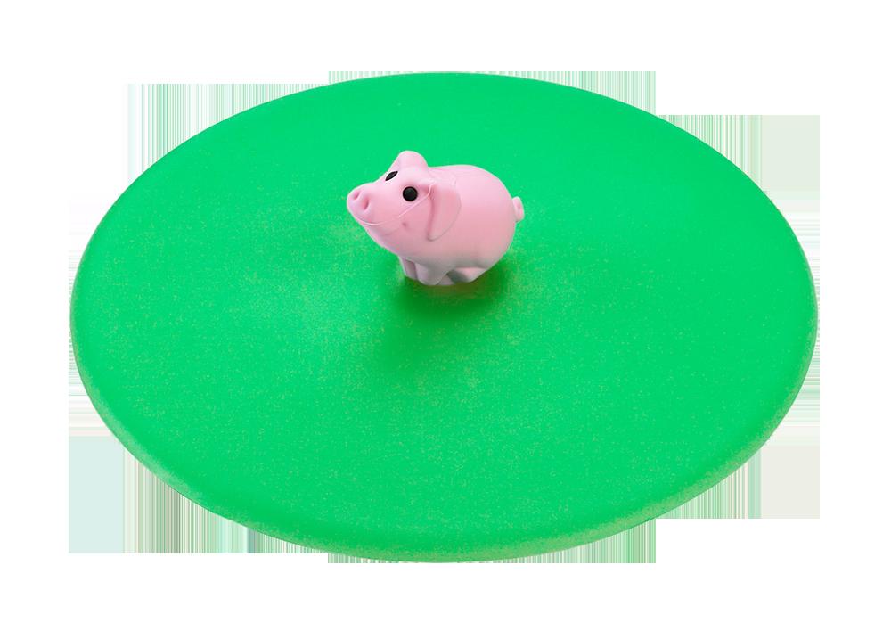 Mein Deckel Hoftiere Schwein