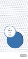 Vorschau: Fondant 250g blau