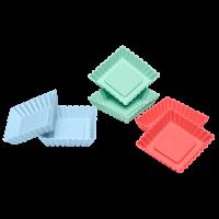 Flexiform Tortelett Quader 6er Set Pastel Mix