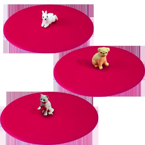 Mein Deckel Haustier 3 Motive im Polybeutel