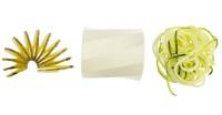 Vorschau: Mini-Spirali cremeweiß/grün
