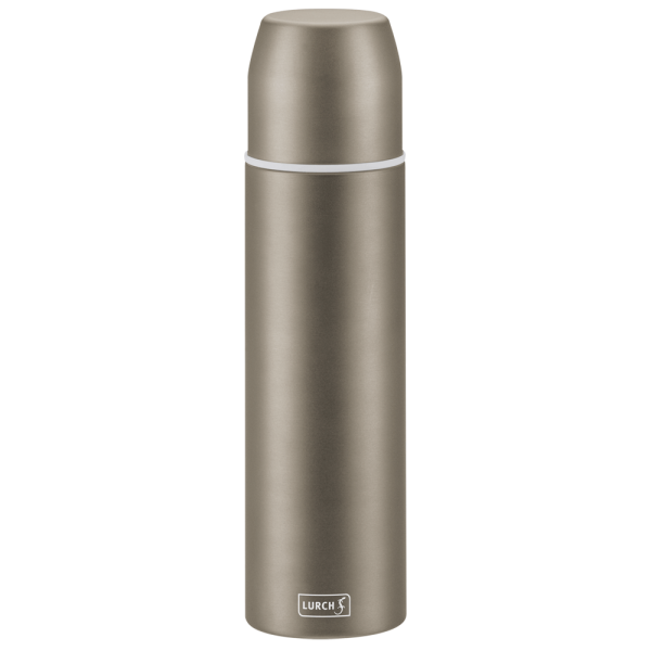 Isolier-Flasche mit Becher EDS 0,75l earth grey