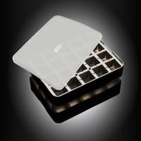 Vorschau: ICE FORMER Würfel 3x3cm schwarz transparent