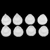 Vorschau: DekorierSet 10teilig transparent/charcoal grey