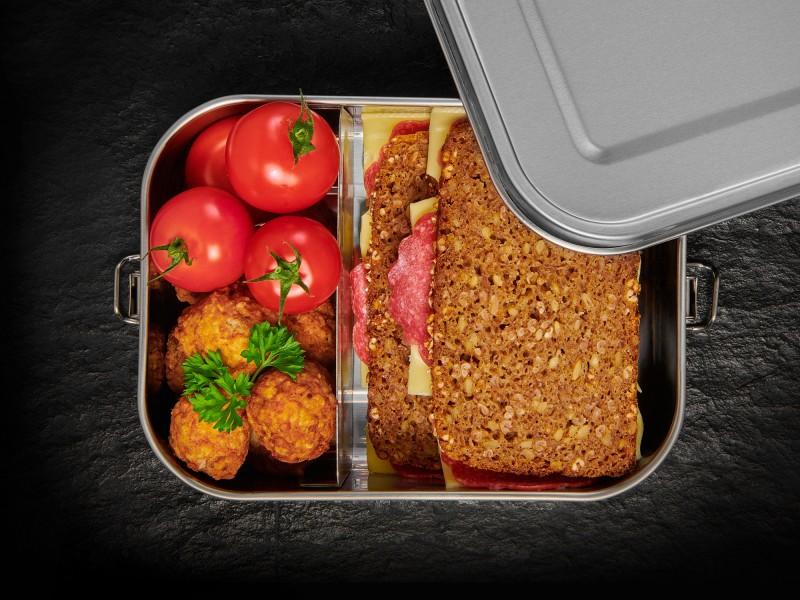 Lurch Lunchbox Snap aus Edelstahl
