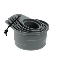 Vorschau: Messbecher Set Silikon 5teilig flint grey