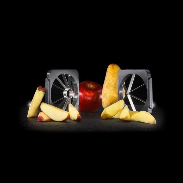 Kubus Wedges/Apfelteiler Zubehör Set