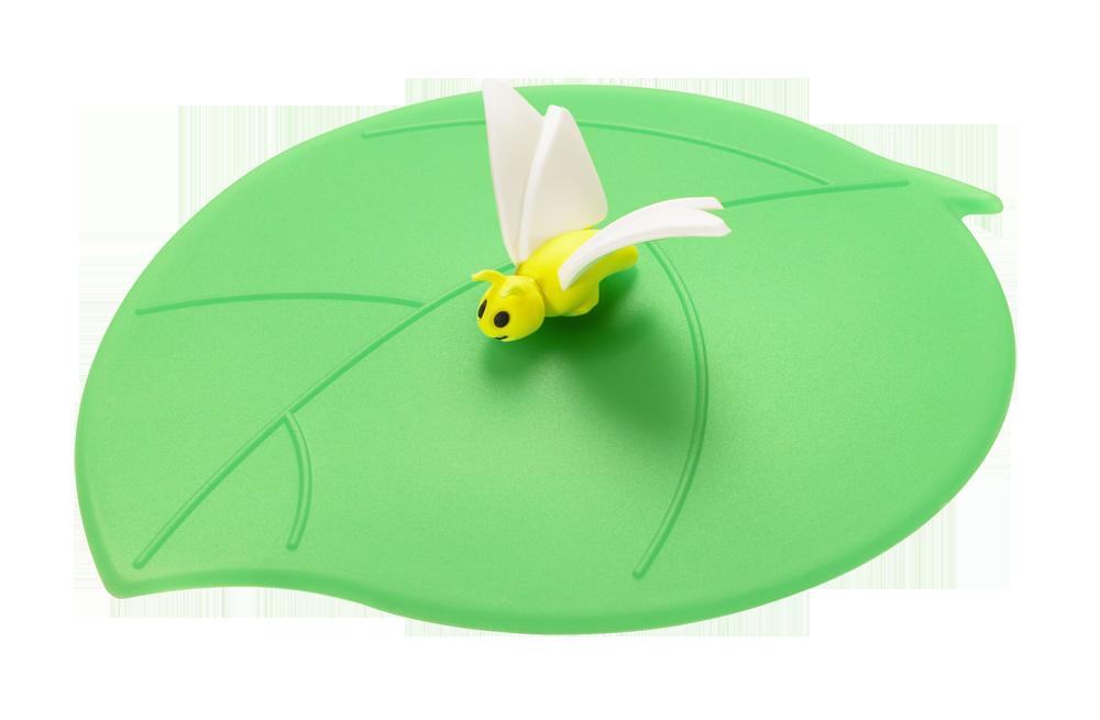 Mein Deckel Sommer Schmetterling weiss