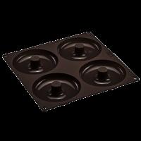 Vorschau: Flexiform Bagels&Cronuts 26x26cm 4fach braun