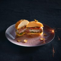 """Vorschau: Burger Stuffer """"gefüllte Burger"""" iron grey"""