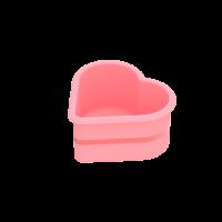 Vorschau: Flexiform Muffinliner Herz 6er Set Pastel Mix