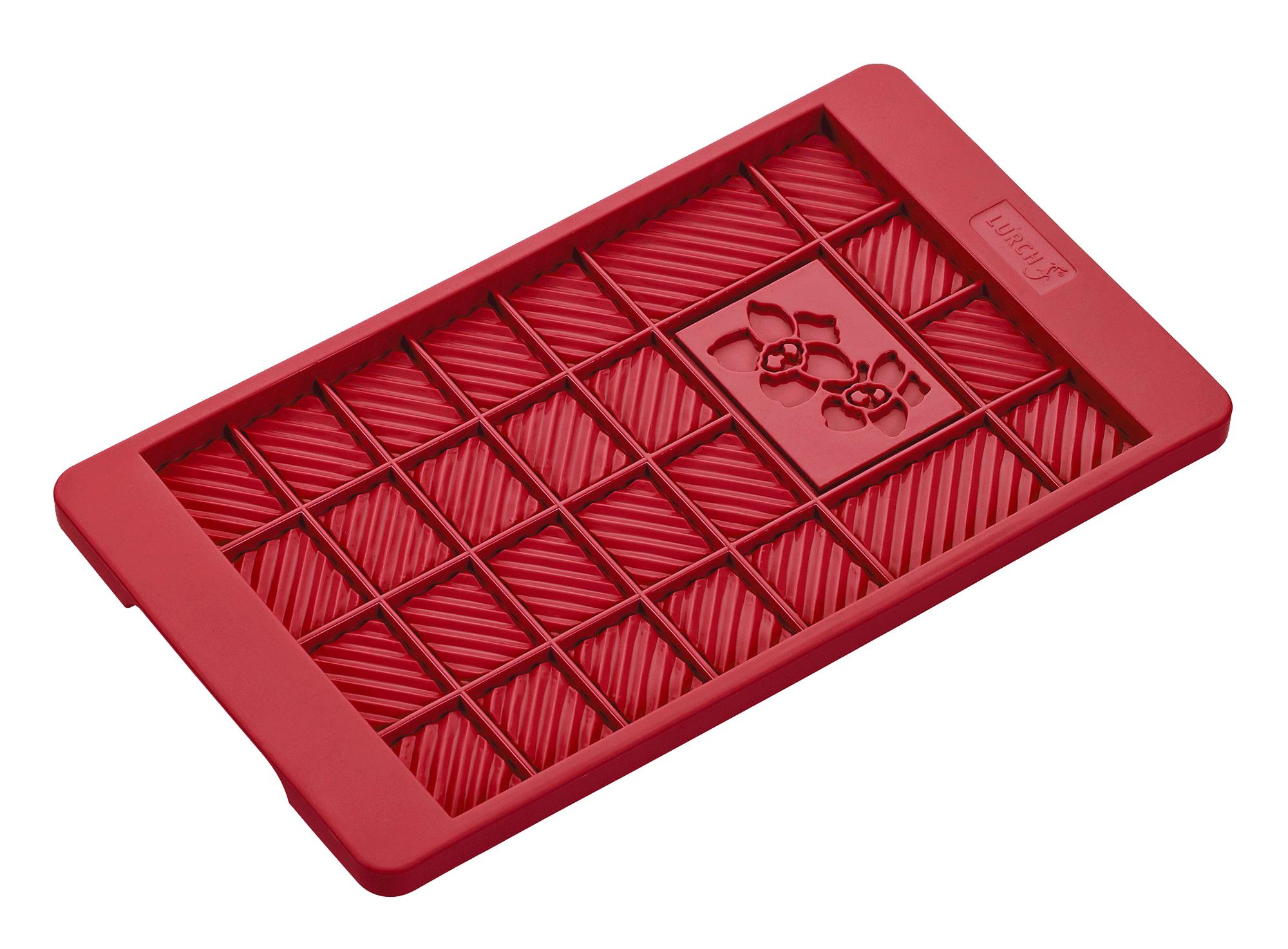Flexiform Schokoladentafel 12x20,5cm ruby