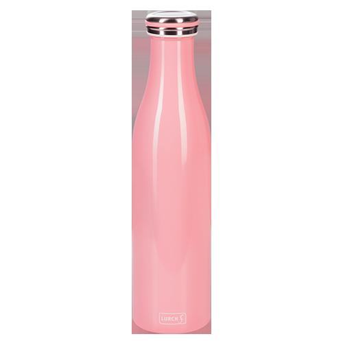 Isolier-Flasche Edelstahl 0,75l soft pink