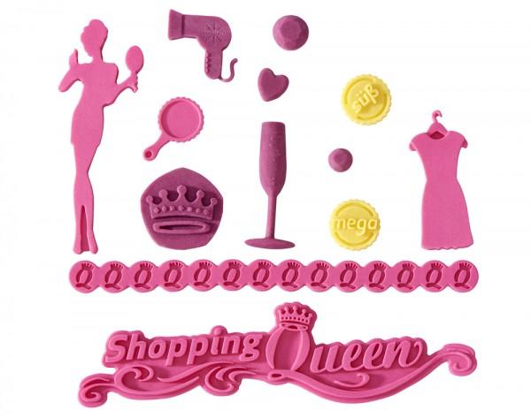 Flexiform Shopping Queen Prägematte Cindy pink