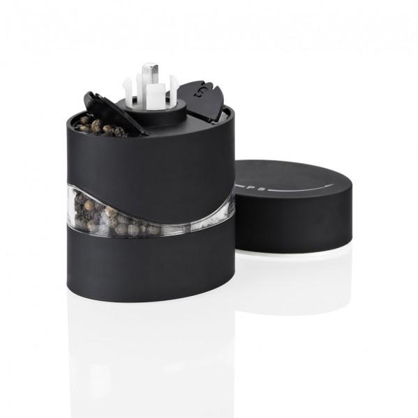 Duo-Mühle Salz/Pfeffer schwarz
