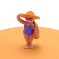 Vorschau: Mein Deckel Beach Girls Theresa Tasche