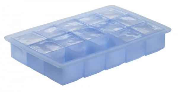 Eiswürfelbereiter Würfel 3x3cm eisblau