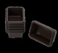 Vorschau: Flexiform Mini Batzen 6er Set braun