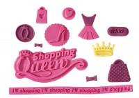 Vorschau: Flexiform Shopping Queen Prägematte Lilly pink