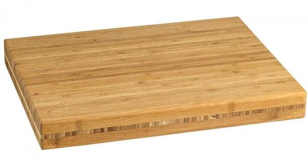 Schneidbrett Bambus klein 300x400x45mm