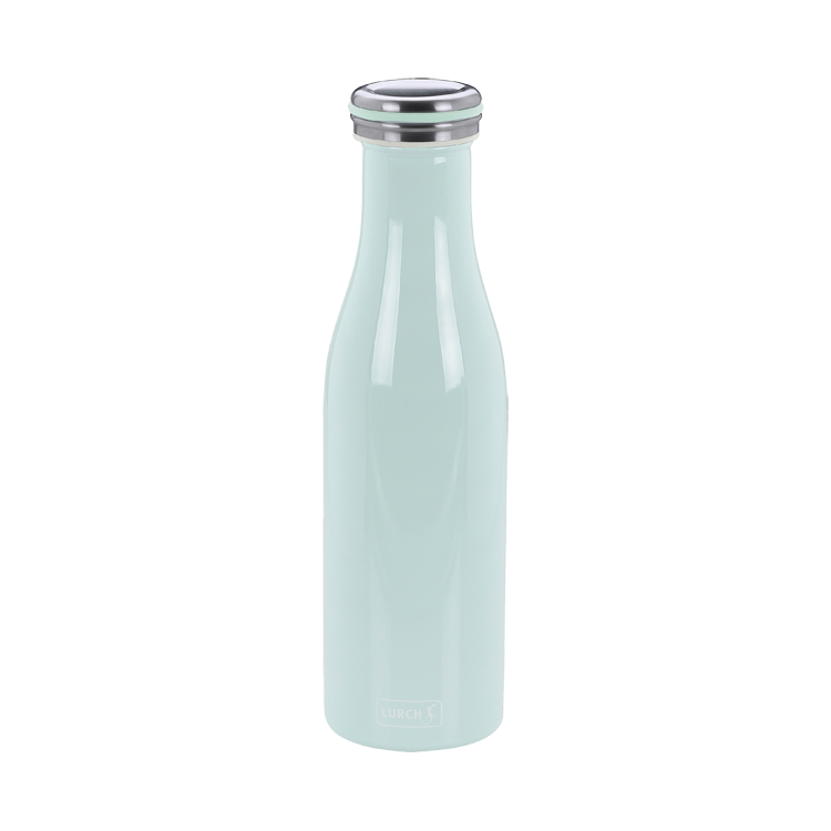 Thermo-Flasche Edelstahl 0,5l mint