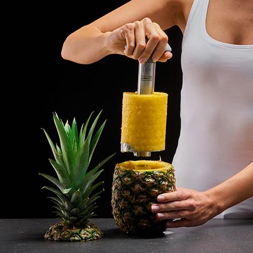 Ananasschneider platingrau