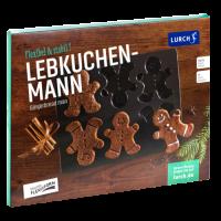 Vorschau: Flexiform Lebkuchenmann 24x30cm braun
