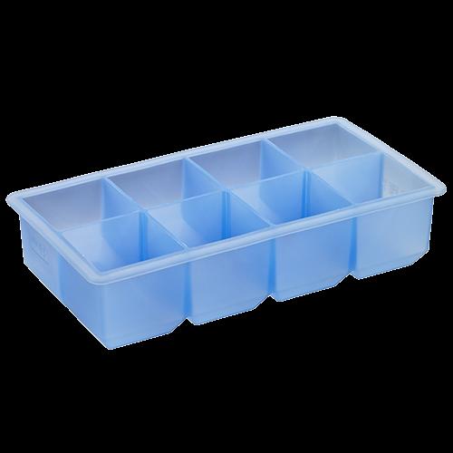 Eisformer Würfel 5x5cm eisblau