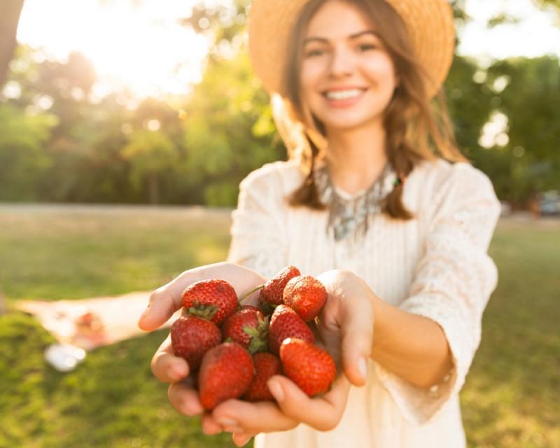 Erdbeerrezepte von Lurch - süß und herzhaft