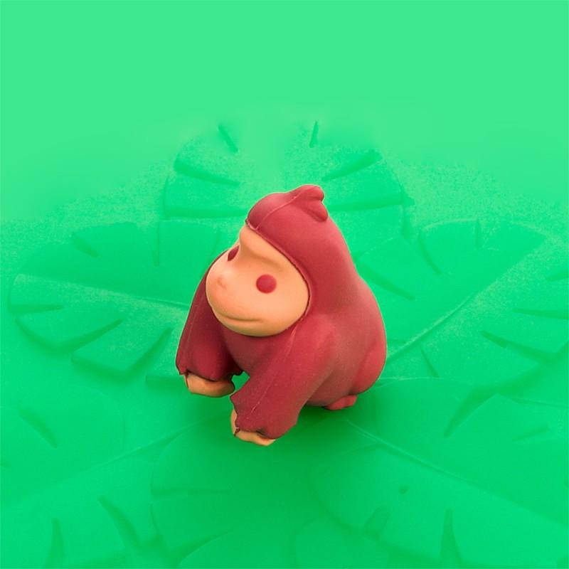 Mein Deckel Wildtiere Gorilla aus Silikon von Lurch