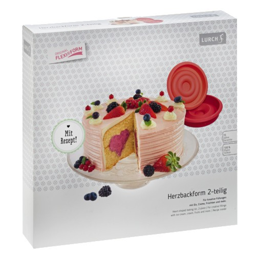 Flexiform Herztorte