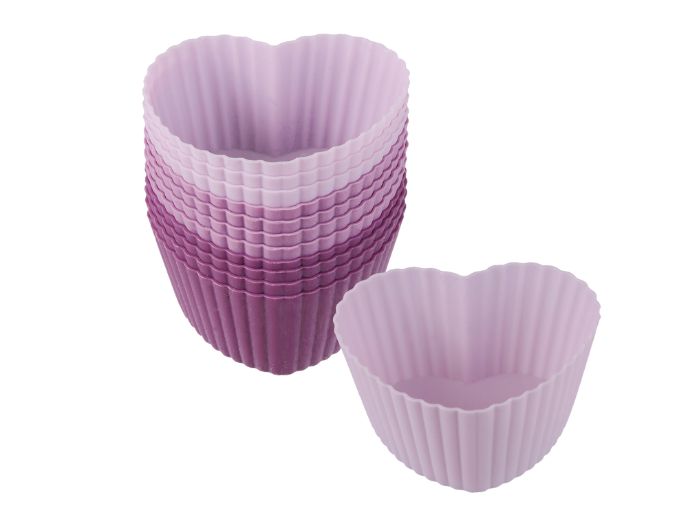 Flexiform Muffinliner Herz 12er Set Romance
