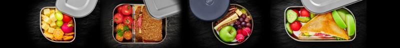 Aufbewahren mit Lurch - Lunchboxen, Brotdosen aus Edelstahl