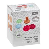 Vorschau: Keksstempel Set Home 6teilig Pastel Mix